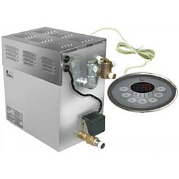 Höyrystin Sawo STP-90-C1/3 9.0 kW, 1-vaihe/3-vaihe erillinen ohjauskeskus (8-20 m³)