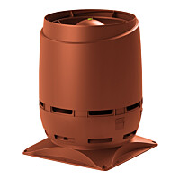 Huippuimuri Vilpe Flow XL ECO 200S + as.sarja 400x400 tiilenpunainen