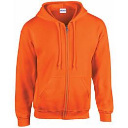 Huppari Atex Hi-Vis 2206 vetoketjulla oranssi