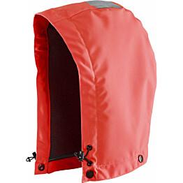 Huppu Blåkläder Highvis 2166, vuorattu, huomio punainen