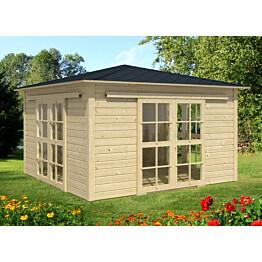 Huvimaja Teahouse 3600x3600 mm 12,96 m² puuvalmis