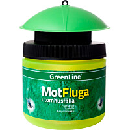 Hyönteissieppari Greenline MotFluga purkki