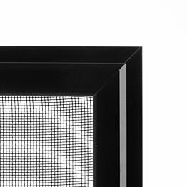 Hyönteissuoja ikkunaan SOLAR sandy HP mittatilaus leveys 200-1500 mm musta