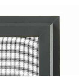 Hyönteissuoja ikkunaan SOLAR sandy HP mittatilaus leveys 200-1500 mm tummanharmaa