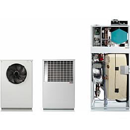 Ilma-vesilämpöpumppu Nilan Compact P C AIR9 XL