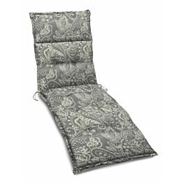 Istuinpehmuste aurinkotuoliin Hillerstorp 194 x 59 x 8 cm beige kasmirkuviointi