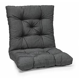Istuinpehmuste Gotland säänkestävä 107 x 56 x 11 cm tummanharmaa