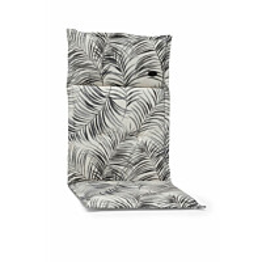 Istuinpehmuste Milano 9807 117 x 50 x 5 cm harmaa palmunlehti