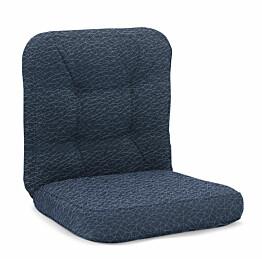 Istuinpehmuste Texas matala 107 x 56 x 11 cm sininen kuviointi
