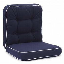 Istuinpehmuste Texas matala sininen (91341)