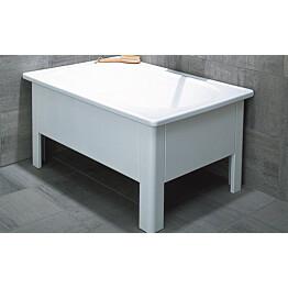 Istuma-amme Svedbergs 1250 105x70x51 cm emali valkoinen