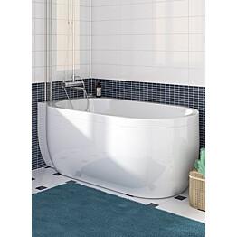 J-paneeli kylpyammeeseen Nordhem Djupvik Nordurit valkoinen vasen