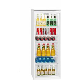 Jääkaappi Bomann KSG7280 lasiovella 256l valkoinen