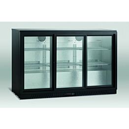 Jääkaappi Scancool SC 310 SL lasiovella 865x1350x520mm 289l