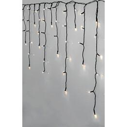 Jääpuikkovalosarja Star Trading Serie LED Crispy Ice White 240 valoa 5900x550mm