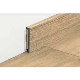Jalkalista Pergo Modern Plank 12x55x2000 mm eri värivaihtoehtoja vinyylille