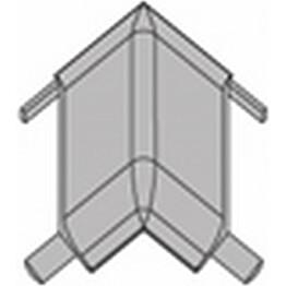 Jalkalistan sisäkulma Progress Profiles Skirting, 2,7m, 60mm, harjattu teräs