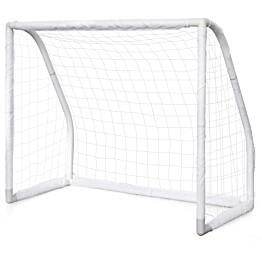 Jalkapallomaali Nordic Play Pro Goal, 1.65x1.35x0.76m, muovi, valkoinen