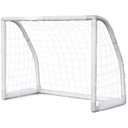 Jalkapallomaali Nordic Play Soccer Goal, 1.3x1x0.76m, muovi, valkoinen