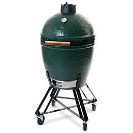 Jalusta Big Green Egg L-grillille pyörillä