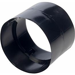 Jatkoholkki Meltex 160 mm SN4 musta
