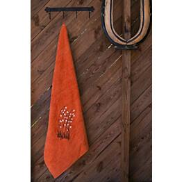 Jättipyyhe Pikkupuoti Suovilla 100x150 cm oranssi