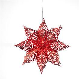 Joulutähti Markslöjd Hall 70x20x70 cm punainen