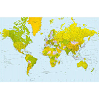 Juliste Giant Art 00624 Map of the World 175x115 cm