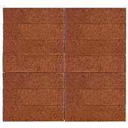 Julkisivutiili Wienerberger MRT 75 285x85x75 mm punainen karhea