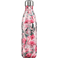 Juomapullo ChillyŽs Flamingo, 750ml
