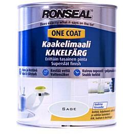 Kaakelimaali Ronseal 750 ml Brilliant white Valkoinen satiini