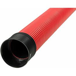 Kaapelinsuojaputki Meltex, TEL B Ø160/140 mm x 6 m, punainen, tupla
