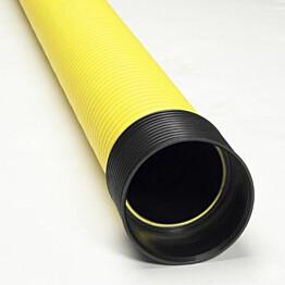 Kaapelinsuojaputki Meltex, TEL B Ø75/62 mm x 6 m, keltainen, PE, tupla