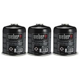 Kaasusäiliö Weber 445 g 3 kpl