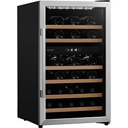 Kahden lämpötilan viinikaappi Cavin Polar Collection 31 teräs