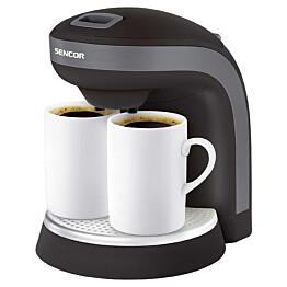Kahvinkeitin 2-kupille Sencor SCE2000BK 0.3l musta