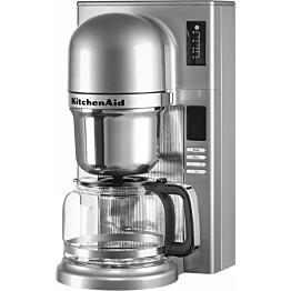 Kahvinkeitin KitchenAid Pour Over 5KCM0802, 1,25 l, hopea