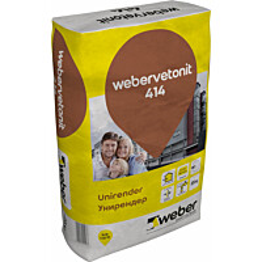 Kalkkisementtilaasti Weber Vetonit 414 Unirender 25 kg