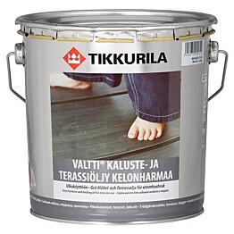Tikkurila Valtti Kaluste- ja terassiöljy 2,7 l kelonharmaa