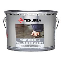 Tikkurila Valtti Kaluste- ja terassiöljy 9 l kelonharmaa