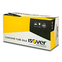 Kanavaeriste ISOVER CLIMCOVER TUBE Alu2 125/50mm 9,6m