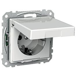 Kannellinen pistorasia Exxact 1S/16A/IP21 0X UKJ VAL 2530111