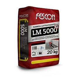 Karkea lattiatasoite Fescon LM 5000 20 kg