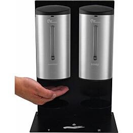 Käsidesi- ja käsivoideautomaatti pöydälle Thermex Caremex Premium Duo