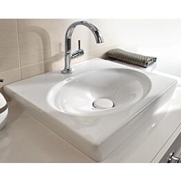 Käsienpesuallas Ceramicplus-pinnoitteella Villeroy & Boch La Belle 7324 520x460 mm Valkoinen Alpin