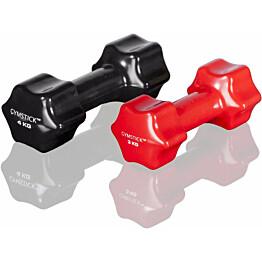 Käsipaino Gymstick Studio 6 kg musta