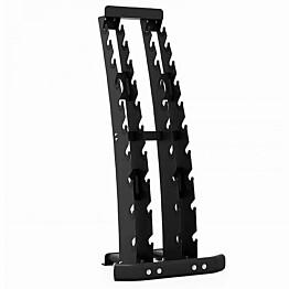 Käsipainoteline Master Fitness Dumbbell Rack 1-10 kg käsipainoille 77 x 62 x 173 cm
