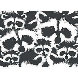 Käsipyyhe Finlayson Pesue 50x70 cm musta/valkoinen