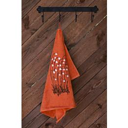 Käsipyyhe Pikkupuoti Suovilla 50x70 cm oranssi