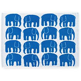 Käsipyyhe Finlayson Elefantti 50x70 cm sininen/valkoinen